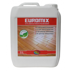 Euromix 1K лак паркетный полуматовый 5л