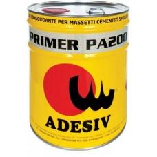 Adesiv Primer PA 200 Грунтовка глубокого проникновения для обработки цементных стяжек, фанеры 10 кг