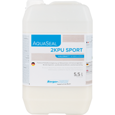 Berger AquaSeal 2KPU Sport двухкомпонентный полиуретановый лак на водной основе