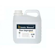 Bionic BASE IMPREGNAT 1:10  Водный транспортный антисептик-концентрат для древесины 3л