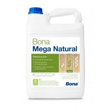 Bona Mega Natural (Бона Мега Натурал) Лак паркетный полумат 5л