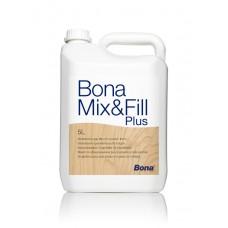 Bona Mix & Fill Plus (Бона микс фил плюс) шпатлевка паркетная 5 л