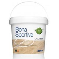 Bona Sportive Paint краска для спортивных площадей, полос. 1,75л