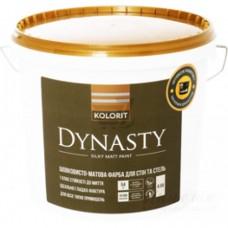 Kolorit Dynasty (Interior Premium-7) Гипоаллергенная шелковисто-матовая латексная краска для стен и потолков 2,7 л