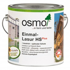 Osmo Einmal-Lasur HS plus Однослойная лазурь 25 л