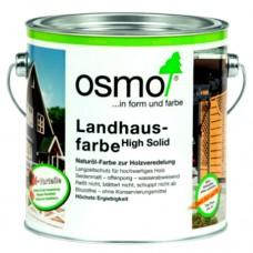 Osmo Landhausfarbe Защитное цветное не прозрачное масло