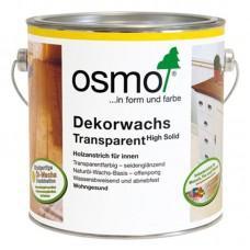 Osmo Dekorwachs Transparent Цветное прозрачное масло с твердым воском