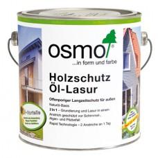 Osmo Holzschutz-Lasur Effekt Защитное масло-лазурь с эффектом серебра
