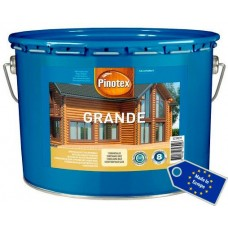 Pinotex Grande деревозащитное средство на водной основе для бревенчатых поверхностей