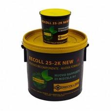 Recoll 25-2k Двухкомпонентный эпоксиполиуретановый безводный клей 10кг