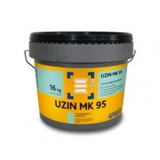 Uzin MK 95 полиуретановый клей без растворителя и воды 16 кг
